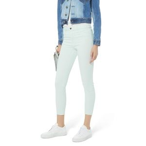 L'Agence Margot High Rise Skinny, Pastel Blue NWT